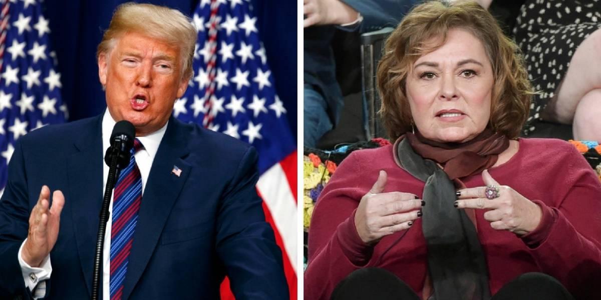 """""""¿Dónde está mi llamada de disculpa?"""": Donald Trump ataca con todo a la cadena ABC tras cancelación de la serie """"Roseanne"""""""