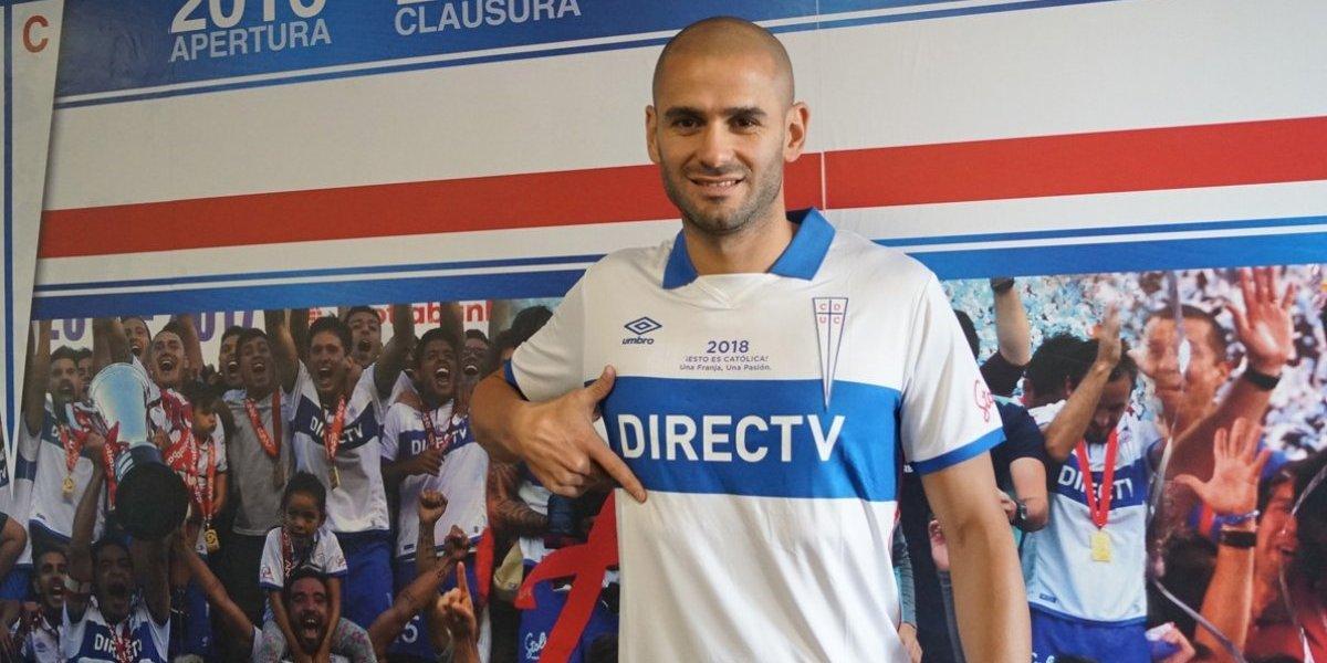 Saez trae los goles a la UC: firmó contrato y será presentado este viernes