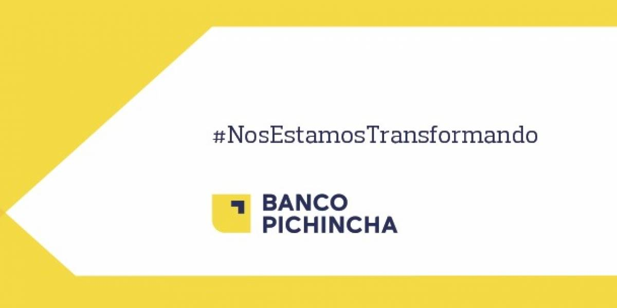 Usuarios en redes reaccionan al cambio de imagen del Banco Pichincha
