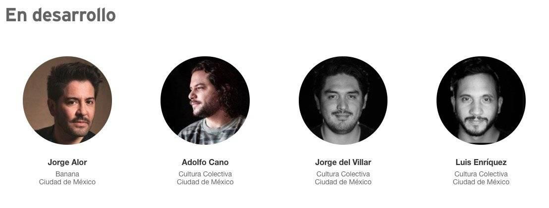 Adolfo Cano aparece junto a sus compañeros de CC en EY EY Entrepreneur Of The Year.