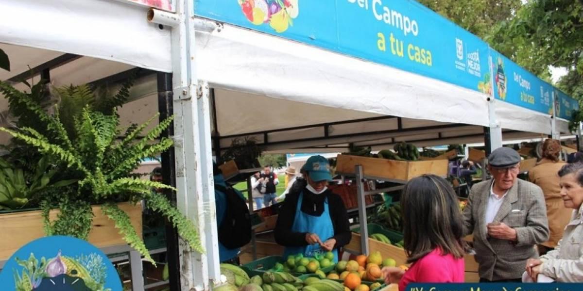 ¡Prográmese! El Mercado Campesino llega la Plaza de Bolívar