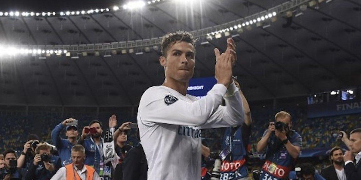 Cristiano Ronaldo reaccionó ante el adiós de Zidane, con una emotiva imagen