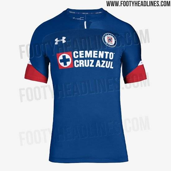 Uniforme Cruz Azul local