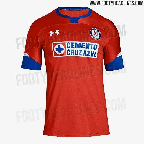 Uniforme Cruz Azul