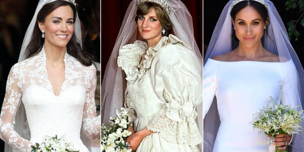 Princesa Diana não pôde conhecer as esposas dos filhos, mas uma artista as reuniu no dia mais importante das suas vidas
