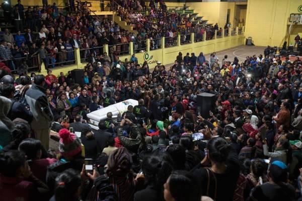 Funeral de Claudia Patricia Gómez