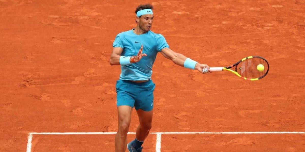 Nadal pasó la aplanadora ante Pella y mandó mensaje a sus rivales en Roland Garros