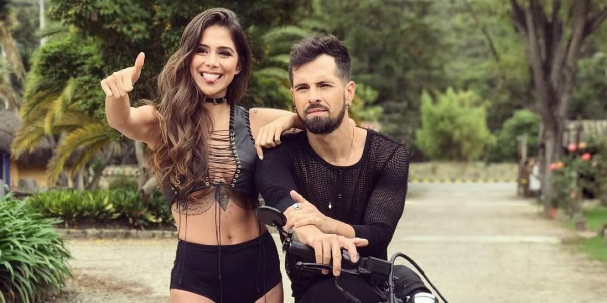 Novia del cantante Mike Bahía confiesa por qué está en cuarentena sexual