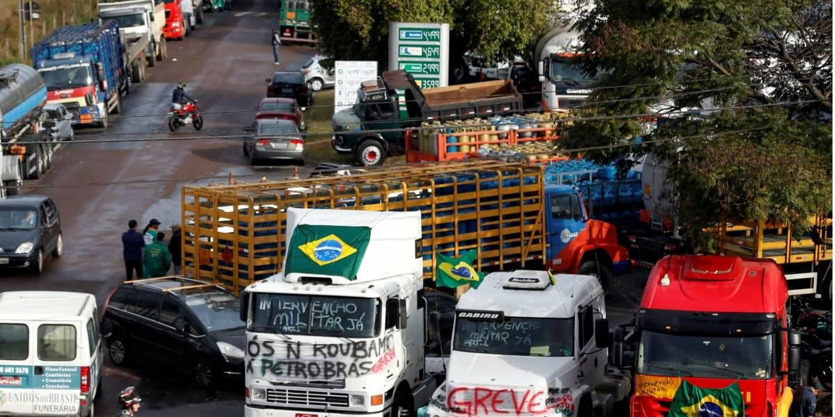 Prejuízo com paralisação dos caminhoneiros chega a R$ 75 bilhões