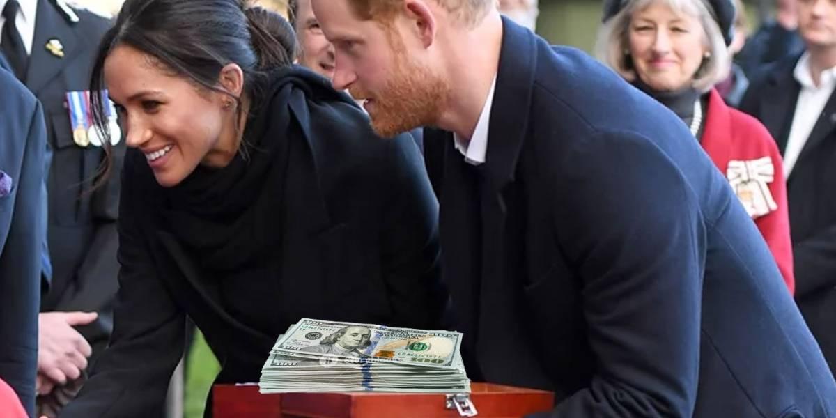 Duques de Sussex devolverán $9 millones en regalos de boda que no pidieron