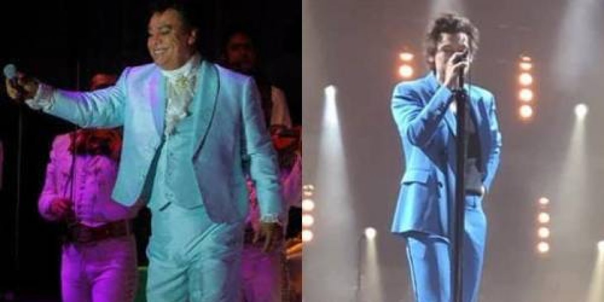 ¡De no creerse! Harry Styles le ha copiado el look a Juan Gabriel