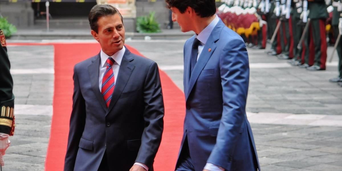 EPN conversa con Trudeau sobre importancia de Canadá en el TLCAN
