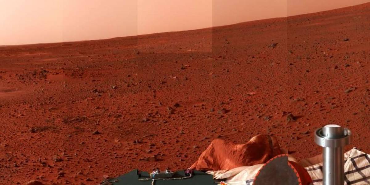 Así sería la aterradora vida en Marte