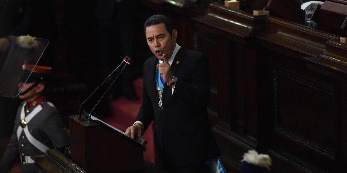 """Presidente Morales: """"Ningún magistrado, fiscal general, procurador, comisionado internacional o embajador es superior a la ley"""""""