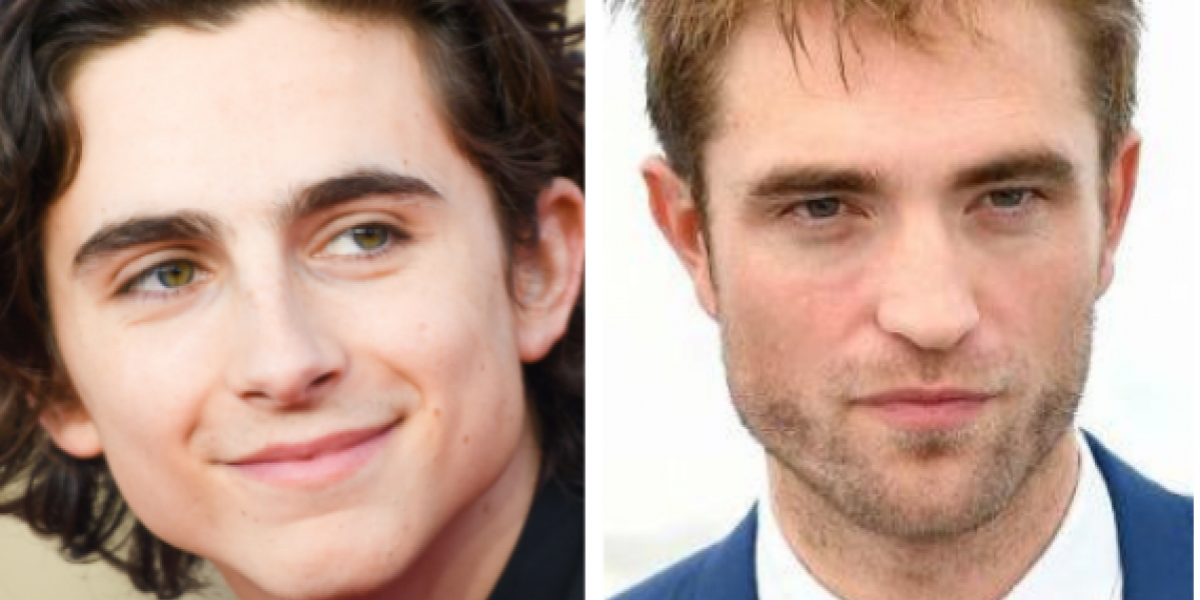 Robert Pattinson y Timothée Chalamet juntos en The King
