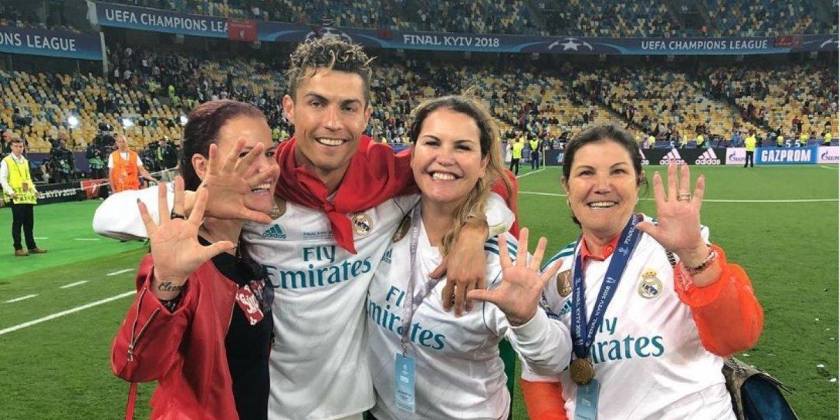 La mamá de Cristiano Ronaldo eligió un club para su hijo