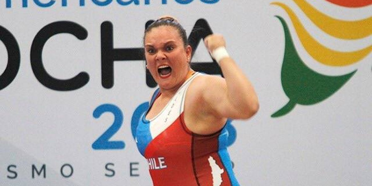 María Fernanda Valdés demostró su categoría para darle otro oro a Chile en los Suramericanos