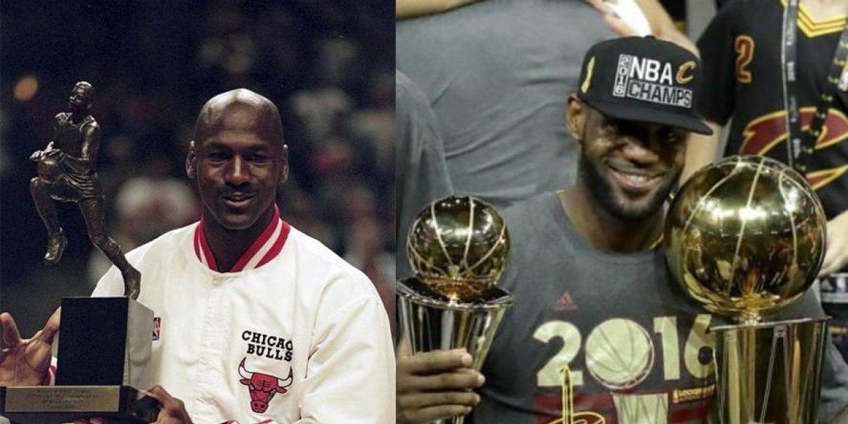 El debate está caliente: ¿LeBron James es mejor que Michael Jordan?