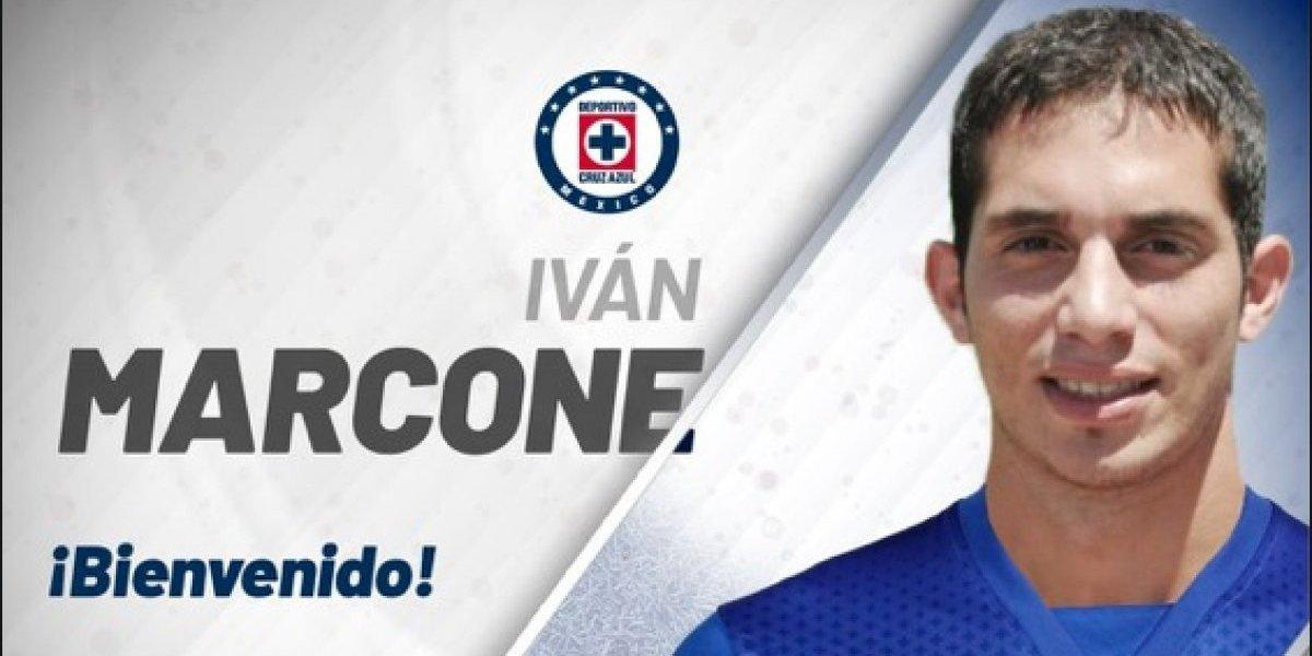 Cruz Azul hace oficial fichaje de Iván Marcone