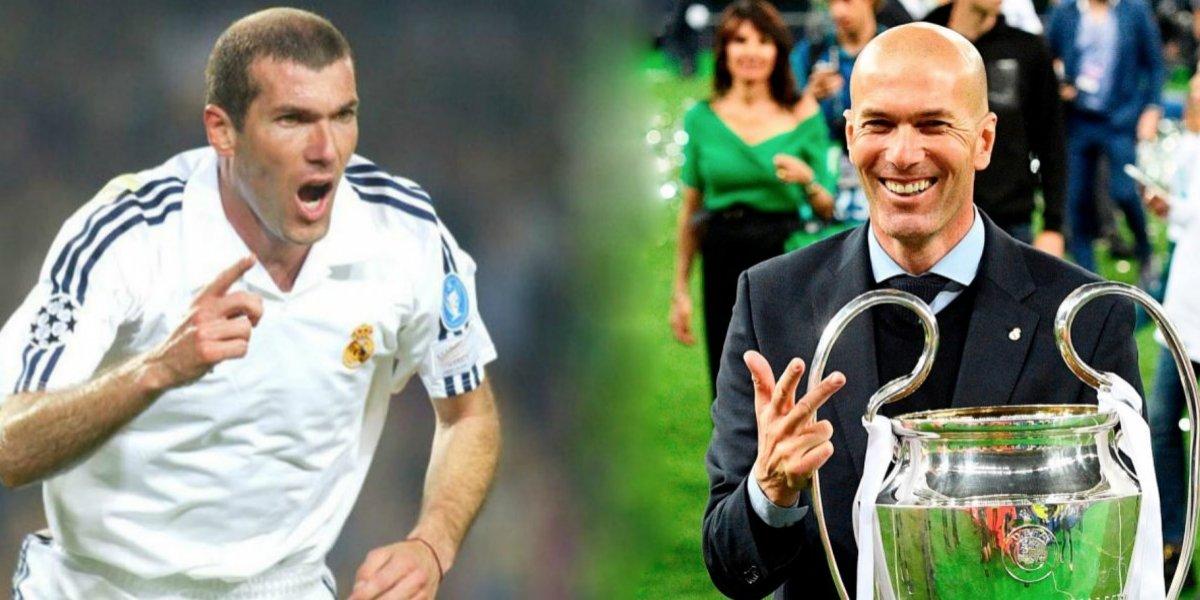Zidane, el francés que alcanzó la gloria con el Real Madrid como jugador y técnico
