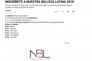 Audiciones de NBL 2018