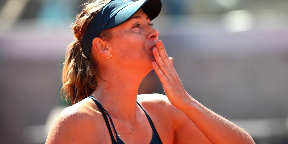 Sharapova y Halep siguen con vida en Roland Garros