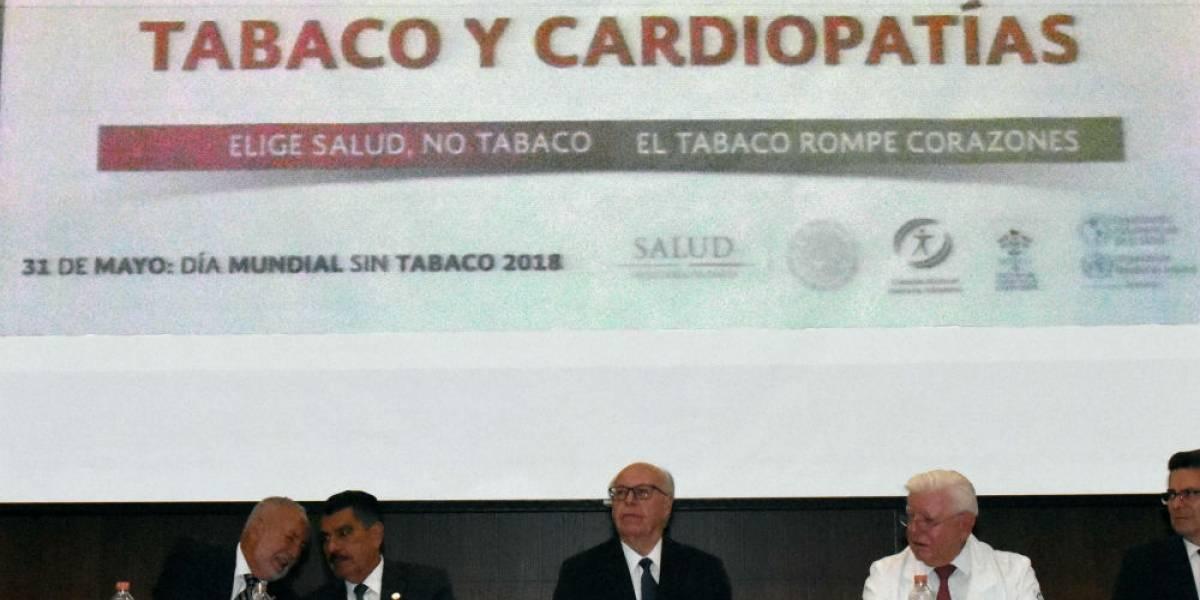 Mueren seis mexicanos cada hora por el tabaquismo: Ssa