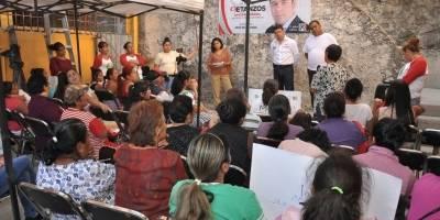 Israel Betanzos ofrece trabajo legislativo para garantizar beneficio social