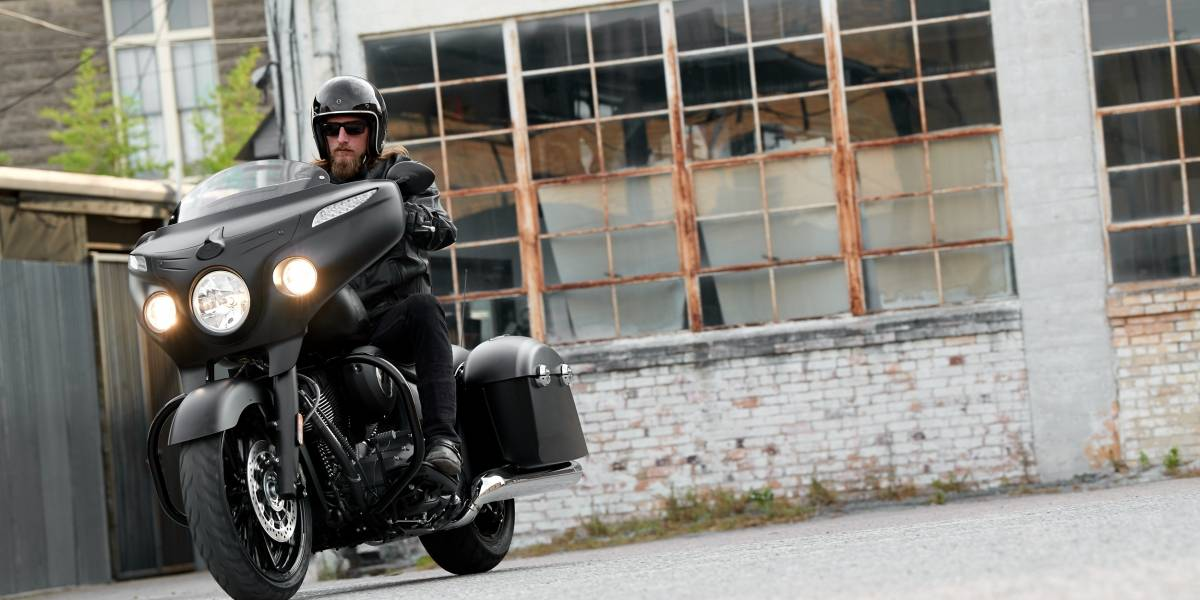 La más reciente Chieftain Dark Horse de Indian Motorcycle está en Chile