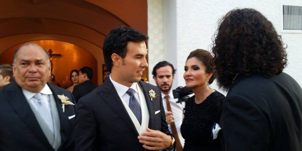 Sergio Pérez contrae matrimonio en Zapopan, Jalisco