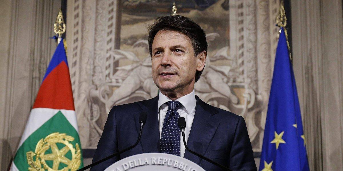 Giuseppe Conte jura como nuevo primer ministro de Italia