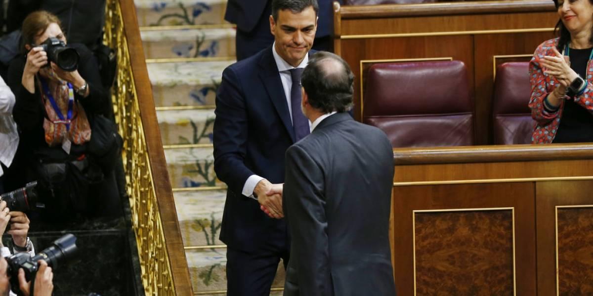 Parlamento destituye a Mariano Rajoy y Pedro Sánchez asume como nuevo presidente de España