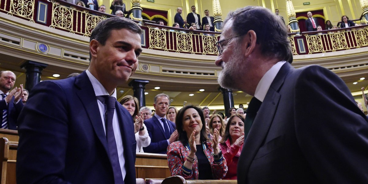Pedro Sánchez triunfa con moción de censura en España