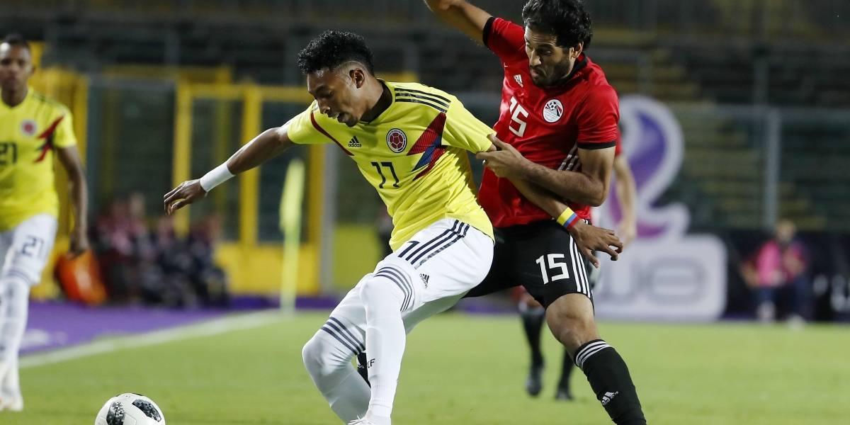 Colombia no se encontró con el gol en su ensayo ante Egipto