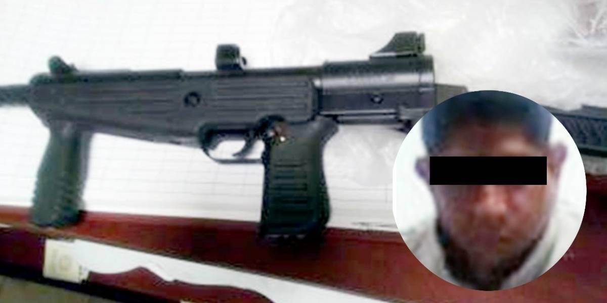 Vinculan a proceso a hombre que disparó a su vecino con una submetralladora