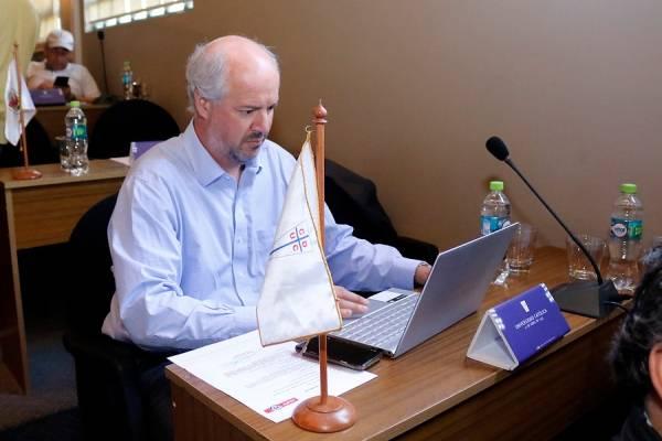 Juan Tagle votaría a favor de modificar el artículo 16 en un próximo Consejo de Presidentes / Foto: Agencia UNO