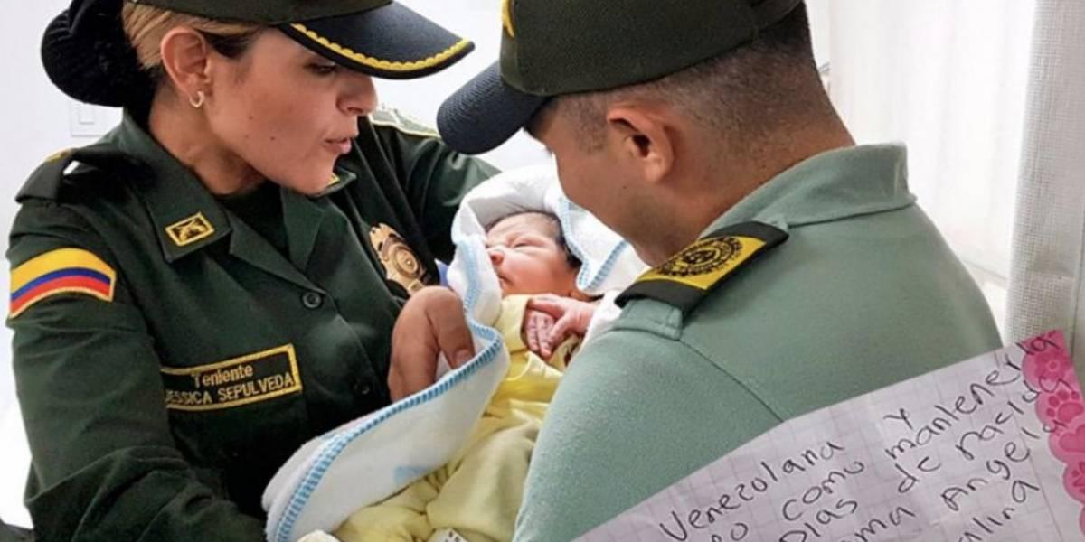 Madre venezolana abandona a su bebé en Colombia con la idea de que tenga un futuro mejor