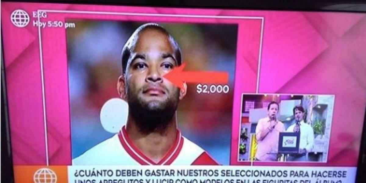 """""""Cómo blanquear a un futbolista negro"""": Indignación por programa peruano racista sobre la selección"""