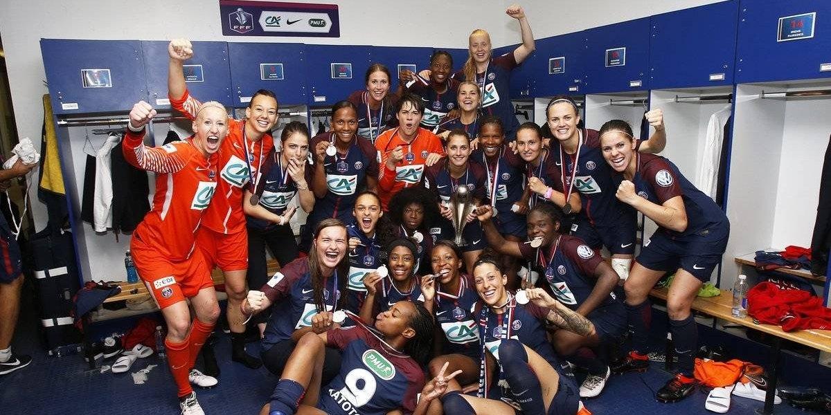 Gigante: Christiane Endler ganó su primer título con el PSG en Francia