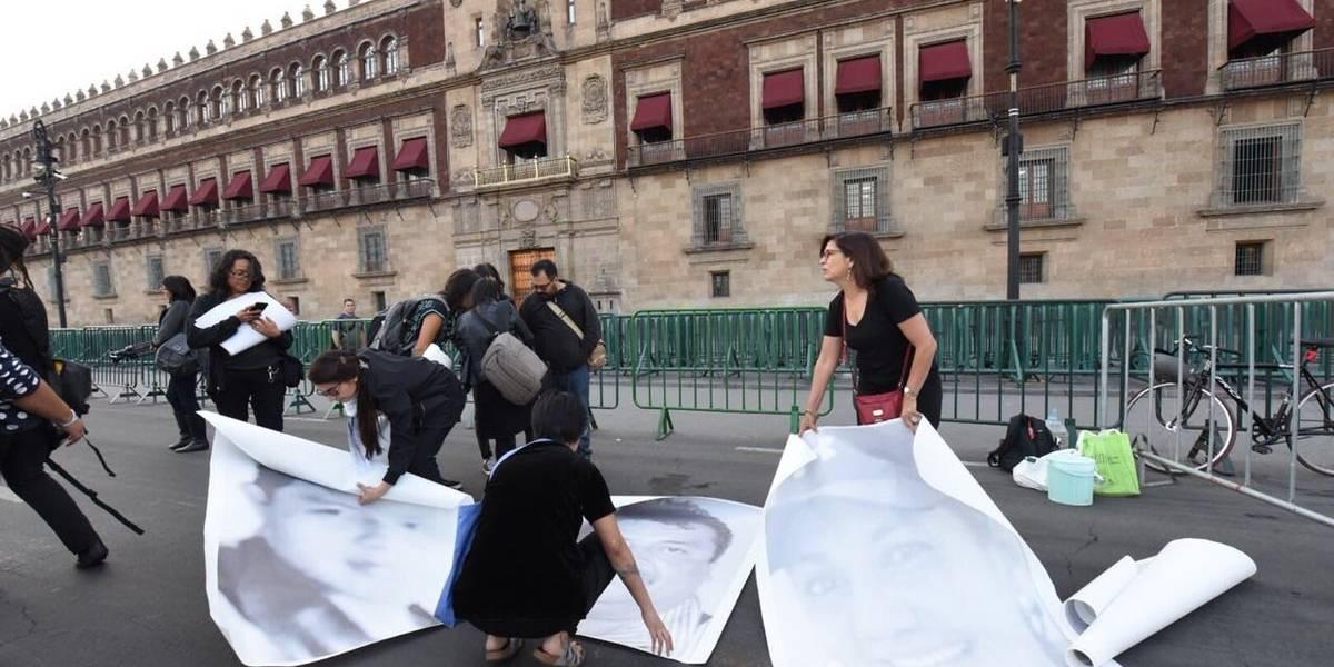 """""""Ustedes quieren votos, nosotros queremos justicia"""": Periodistas protestan contra violencia"""