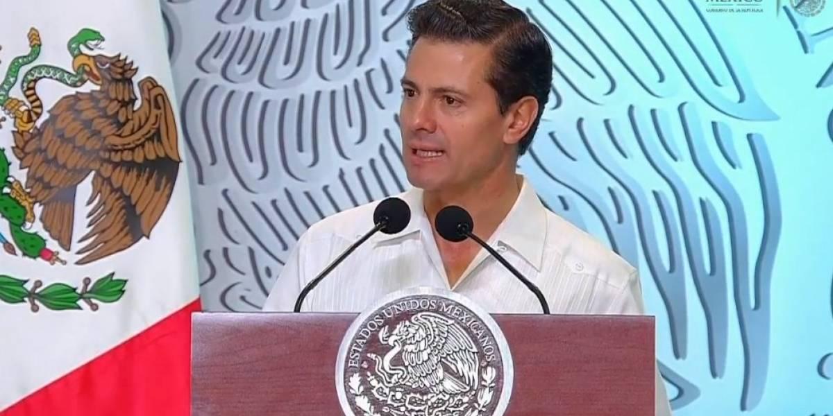 Peña Nieto toma protesta a nuevo consejo de la Concanaco-Servytur