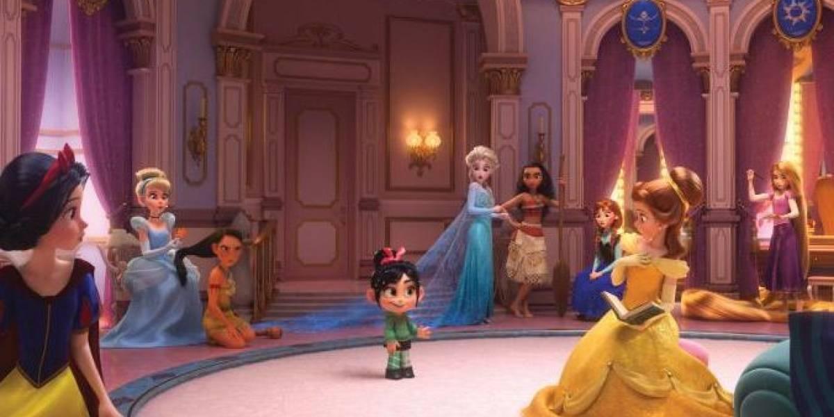 Disney divulga foto de reunião de princesas no filme WiFi Ralph