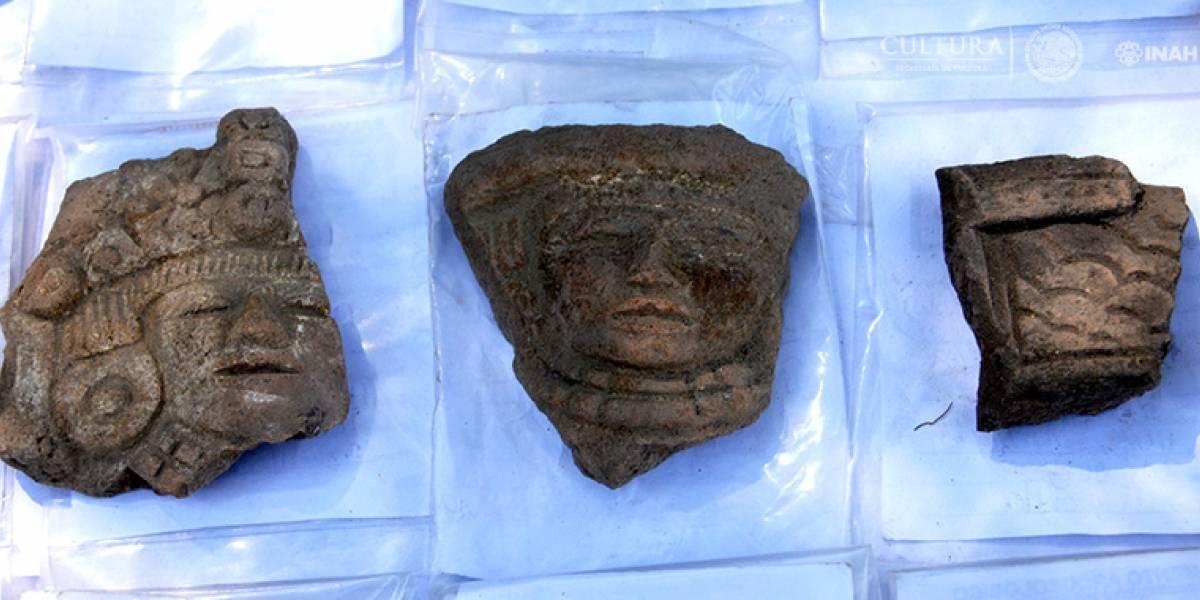 Descubren vestigios teotihuacanos en el Bosque de Chapultepec