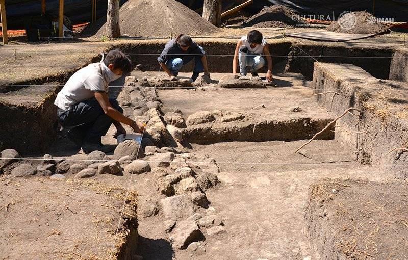 Los vestigios tienen una antigüedad de mil 500 años. Foto: Melitón Tapia, INAH.