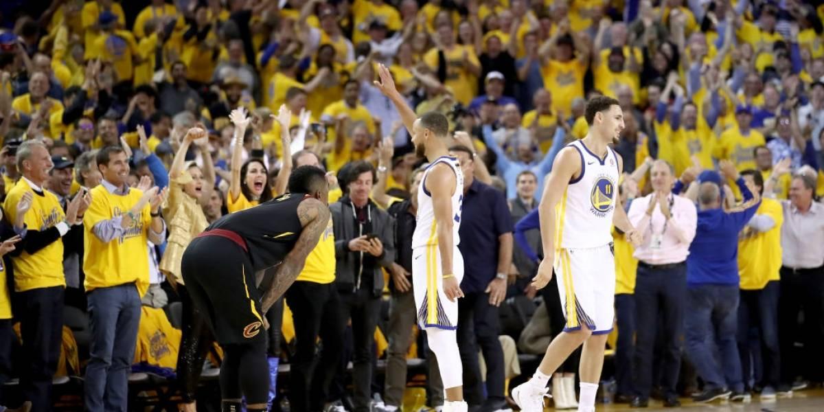 Los Cavs le regalaron el triunfo a Golden State en el inicio de la final de la NBA