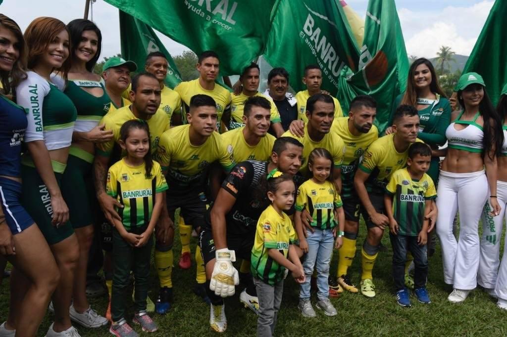El equipo de Guastatoya que jugó la final ante Xelajú