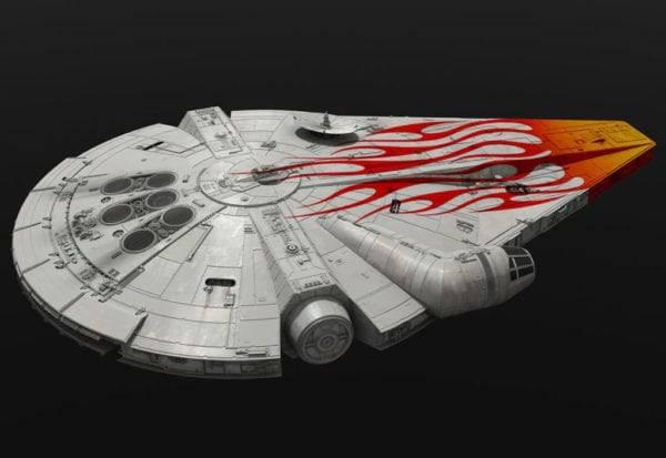 El Halcón Milenario de Solo: A Star Wars Story iba a ser un Pontiac Firebird
