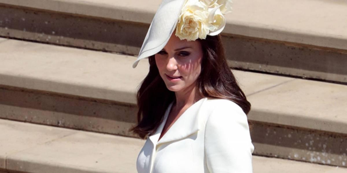 Las pruebas de que Kate Middleton no repitió vestido en la boda de Harry y Meghan