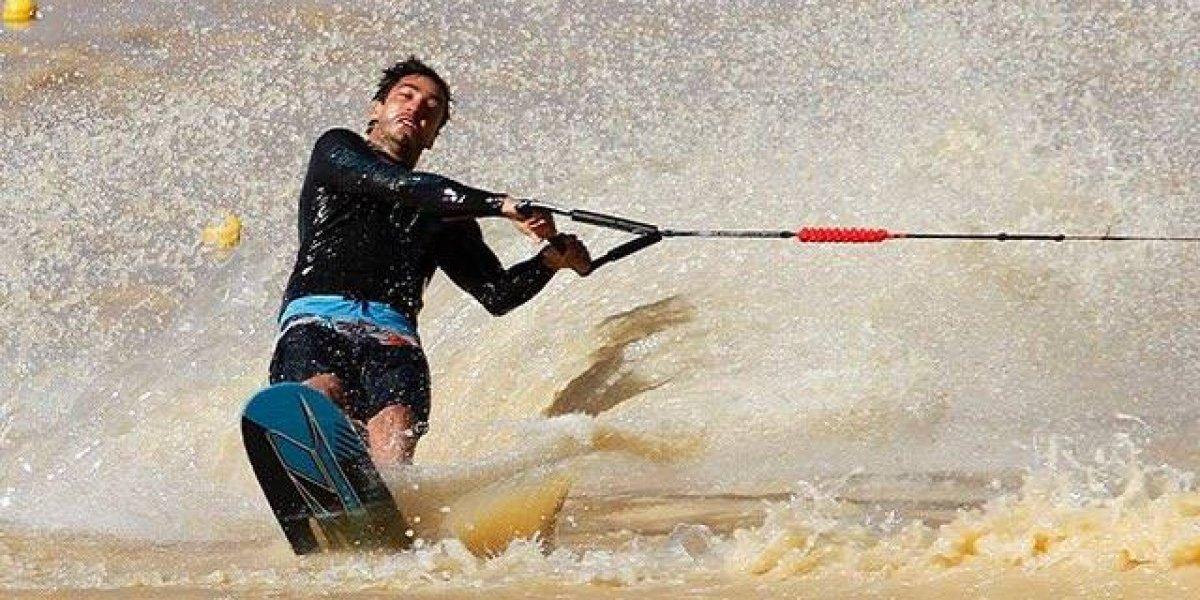 Felipe Miranda dio otra clase de esquí naútico y entregó a Chile un nuevo oro en los Suramericanos
