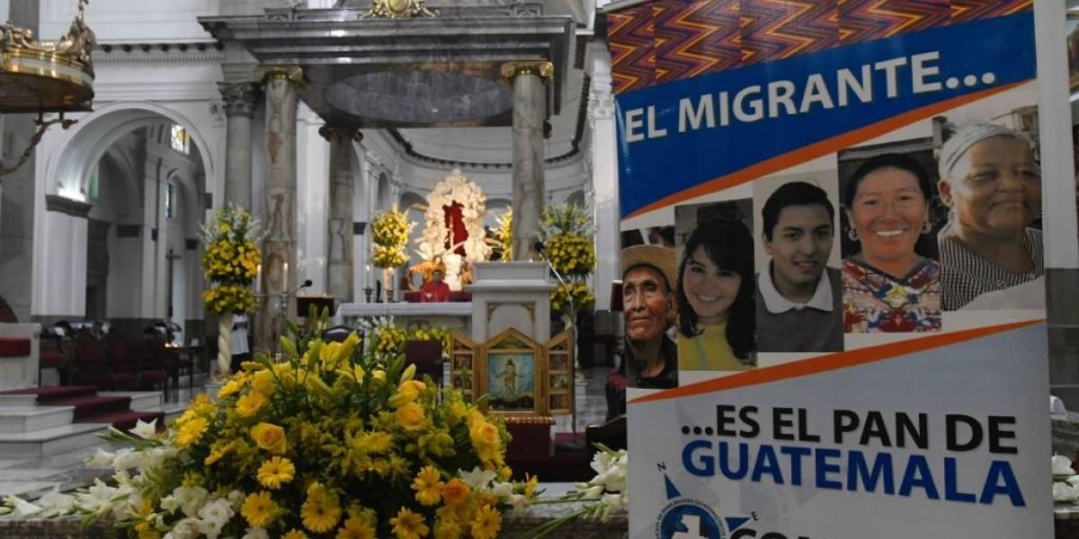 Realizan misa en Catedral en memoria de migrante guatemalteca fallecida en frontera de EE.UU.